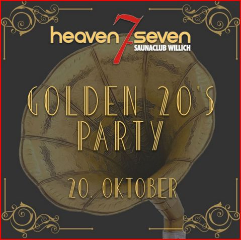20er Party Heaven 7 Seven Saunaclub fkk club