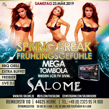 salome 350 spreing break